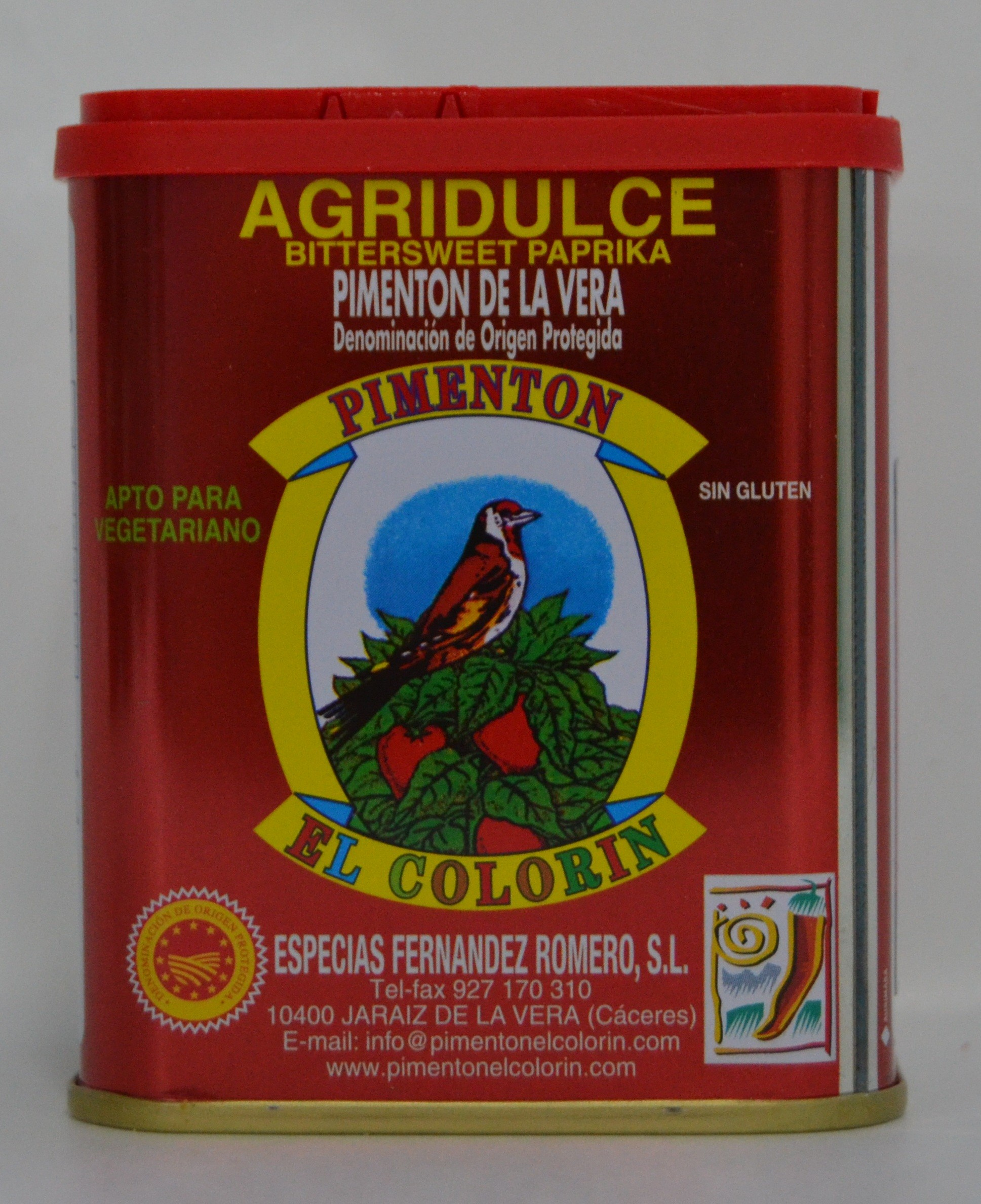 PIMENTÓN DE LA VERA AGRIDULCE 0,125 Kg